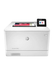 Hp Color Laser Jet M454nw Network Wi-Fi All-in-One Printer, White