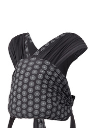 Infantino Together Pull-On Knit Baby Carrier, Black/White