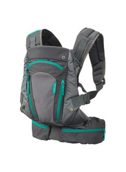 Infantino Carry On Multi-Pocket Baby Carrier, Grey/Blue
