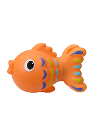 Infantino Jumbo Sea Squirt Fish for Kids, Orange
