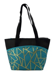 Thermos Raya-9 Can Lunch Tote Bag for Kids, Fragment, Black/Blue
