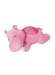 Summer Infant Slumber Buddies Projection and Melodies Soother, Dozing Hippo, Pink