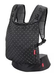 Infantino Baby Zip Travel Baby Carrier, Black