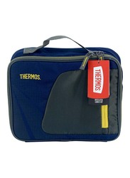 Thermos Radiance Lunch Kit for Kids, Navy/Yellow