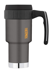 Thermos 590ml Double Wall Stainless Steel Insulated Mug with Handle, Anthracite
