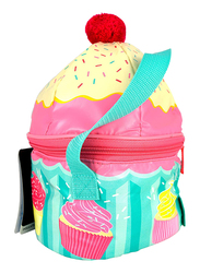 Thermos Novelty Lunch Bag, Sweet Treats Cupcake, Yellow/Red/Blue