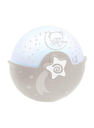 Infantino Wom Soothing Light and Projector, Bear, Ecru