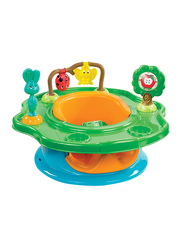 Summer Infant 3-Stage Baby SuperSeat, Forest Friends, Green
