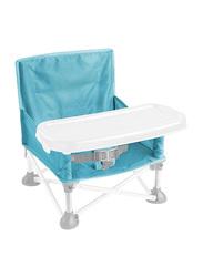 Summer Infant Pop N Sit Portable Booster Seat, Aqua Splash