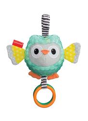 Infantino Textured Sensory Owl Pal Rattle