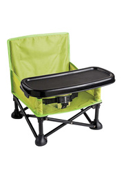 Summer Infant Pop N Sit Portable Booster Seat, Green