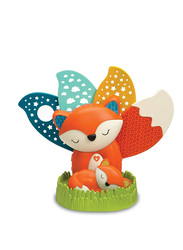Infantino Go Gaga 2-in-1 Musical Soother and Night Light Projector, Fox, Multicolor