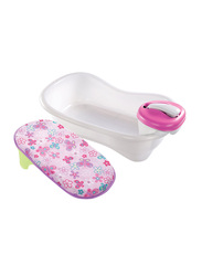 Summer Infant Newborn to Toddler Bath Center & Shower for Kids, Pink
