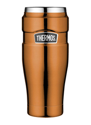 Thermos 470ml Steel King Stainless Steel Travel Mug, Copper