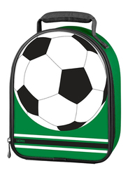 Thermos Novelty Lunch Bag, All Sports Soccer Tombstone, Green/White/Black