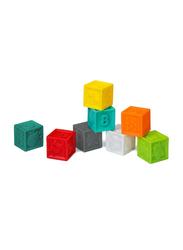 Infantino 8-Pieces Squeeze & Stack Blocks Set
