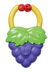 Infantino Vibrating Baby Teether, Grape, Purple/Green