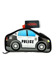 Thermos Novelty Lunch Bag, Police Car, Black/White/Blue