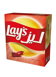 Lay's Chili Flavour Potato Chips, 14 Packs x 23g