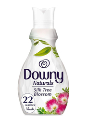 Downy Naturals Concentrate Silk Tree Blossom Scent Fabric Softener, 4 Bottles x 880ml