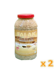 Falak Brown Rice, 2 Pieces x 1.5 Kg
