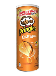 Pringles Hot Paprika Chips, 4 Cans x 165g