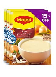 Maggi Cream of Chicken Soup, 3 Packets x 71g