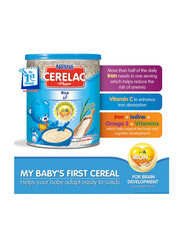 Nestle Cerelac Rice with Milk Infant Cereal, from 6 months, 400g