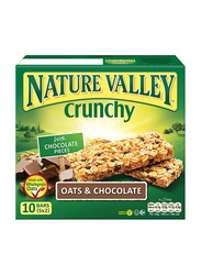 Nature Valley Crunchy Oats & Chocolate Bars, 10 Bars x 21g