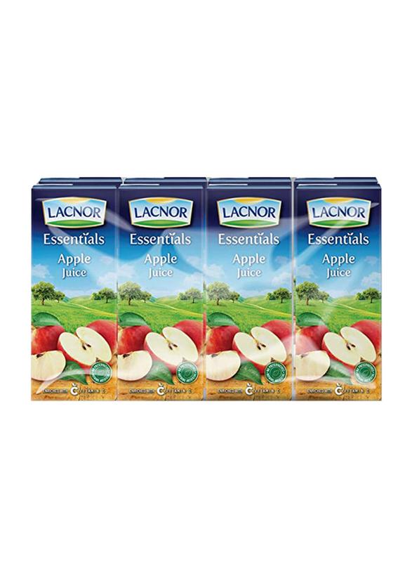 Lacnor Essentials Apple Juice, 12 x 1 Liter