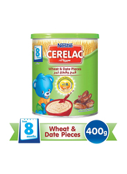 Nestle Cerelac Wheat & Date Pieces with Milk Infant Cereal, from 8 Months, 400g