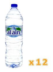 Al Ain Bottled Drinking Water, 12 Bottles x 1.5 Liter