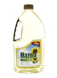 Mazola Sunflower Oil, 2 Bottles x 1.8 Liter