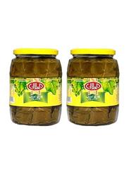 Al Alali Alali Vine Leaves Egypt Canned Vegetables, 2 Cans x 800g