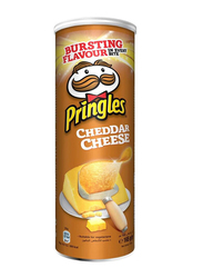 Pringles Cheddar Cheese Chips, 4 Cans x 165g