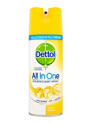 Dettol All In One Lemon Disinfectant Spray, 450ml