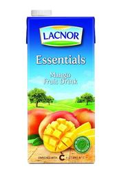Lacnor Essentials Mango Juice Drink, 12 x 1 Liter
