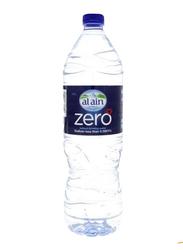 Al Ain Zero Sodium Free Bottled Drinking Water, 48 Bottles x 1.5 Liter