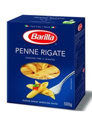 Barilla Penne Rigate Semolina Pasta, 3 Boxes x 500g