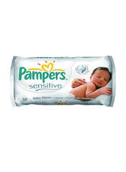 Pampers 12-Packs Sensitive Baby Wipes, 56 Wipes