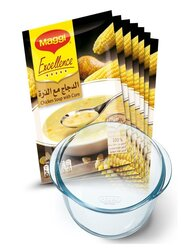 Maggi Excellence Chicken Soup with Corn, 7 Sachets x 47g