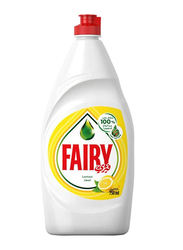 Fairy Lemon Dishwashing Liquid, 2 Bottles x 750ml