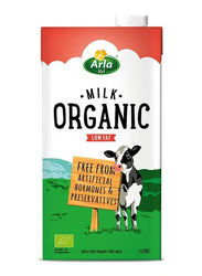 Arla Organic Low Fat Milk, 4 x 1 Liter