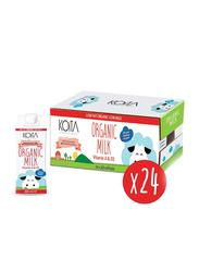Koita Low Fat Organic Cow Milk, 24 x 200ml