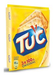 Tuc Original Crackers, 3 Packs x 100g