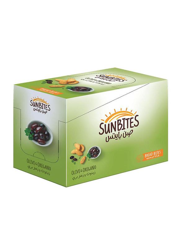 Sunbites Olive & Oregano Bread Bites, 12 Bags x 23g