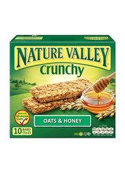 Nature Valley Crunchy Oats & Honey Bars, 10 Bars x 21g