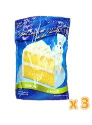 Pillsbury Moist Supreme Lemon Cake Mix, 3 Pieces x 485g