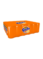 Fanta Orange Soft Drink, 30 Cans x 150ml