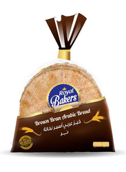 Royal Bakers Brown Arabic Bread, Small, 4 Packs x 175g